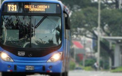 Se suspende temporalmente el servicio del MIO por bloqueos en la ciudad
