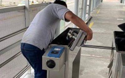 Continúan los trabajos de recuperación en las estaciones del MIO